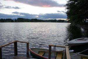 徳良湖ボート乗り場