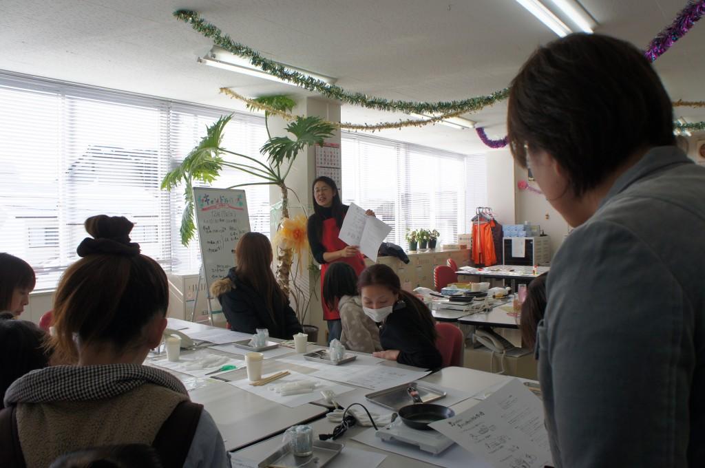 クリスマス手づくりエコキャンドル教室