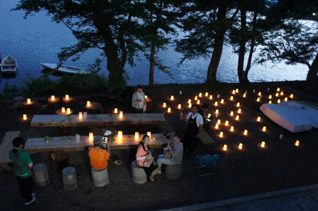 キャンドルナイト in 徳良湖